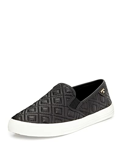 550c2ec1d8cc Tory Burch Jessie Quilted Slip-on Sneaker (9)  Amazon.co.uk  Shoes ...