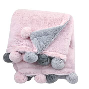 Amazon Com Just Born Boys And Girls Newborn Infant Baby Toddler Nursery Dream Super Soft Plush Receiving Swaddle Blanket Pink One Size Baby