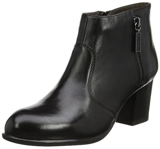 Molly 3 Nappa, Zapatos con Plataforma para Mujer, Negro (Nero/Black), 38 EU Stonefly