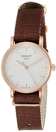 Amazon.com  Tissot Everytime White Dial Ladies Watch T1092103703100 ... 8c5f6436d7