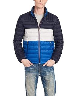 ecc496d17 Tommy Hilfiger Men's Retro Colorblocked Hooded Track Jacket at ...