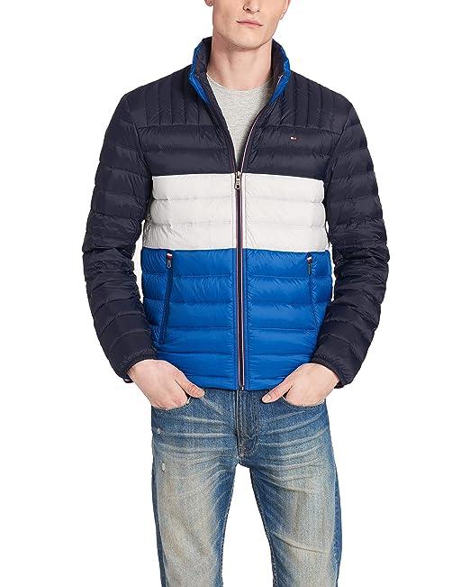 69b960a9c Tommy Hilfiger Mens Ultra Loft Packable Puffer Jacket Down Alternative Coat