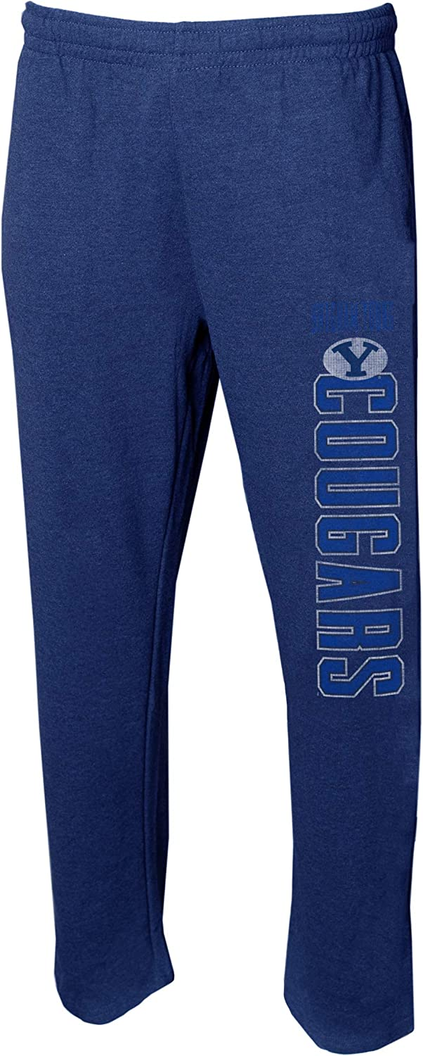 Concepts Sport Mens NCAA Vintage Retro Squeeze Play Sleepwear Pajama Pants-Heathered