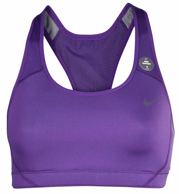 d7e631a1367f6 Amazon.com  Nike Women s Dri-Fit High Shape Training Sports Bra-Court  Purple-XS  Sports   Outdoors