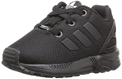 the best attitude 04102 e9415 adidas Originals Boys  ZX Flux EL I Running Shoe Black, 4 M US Toddler