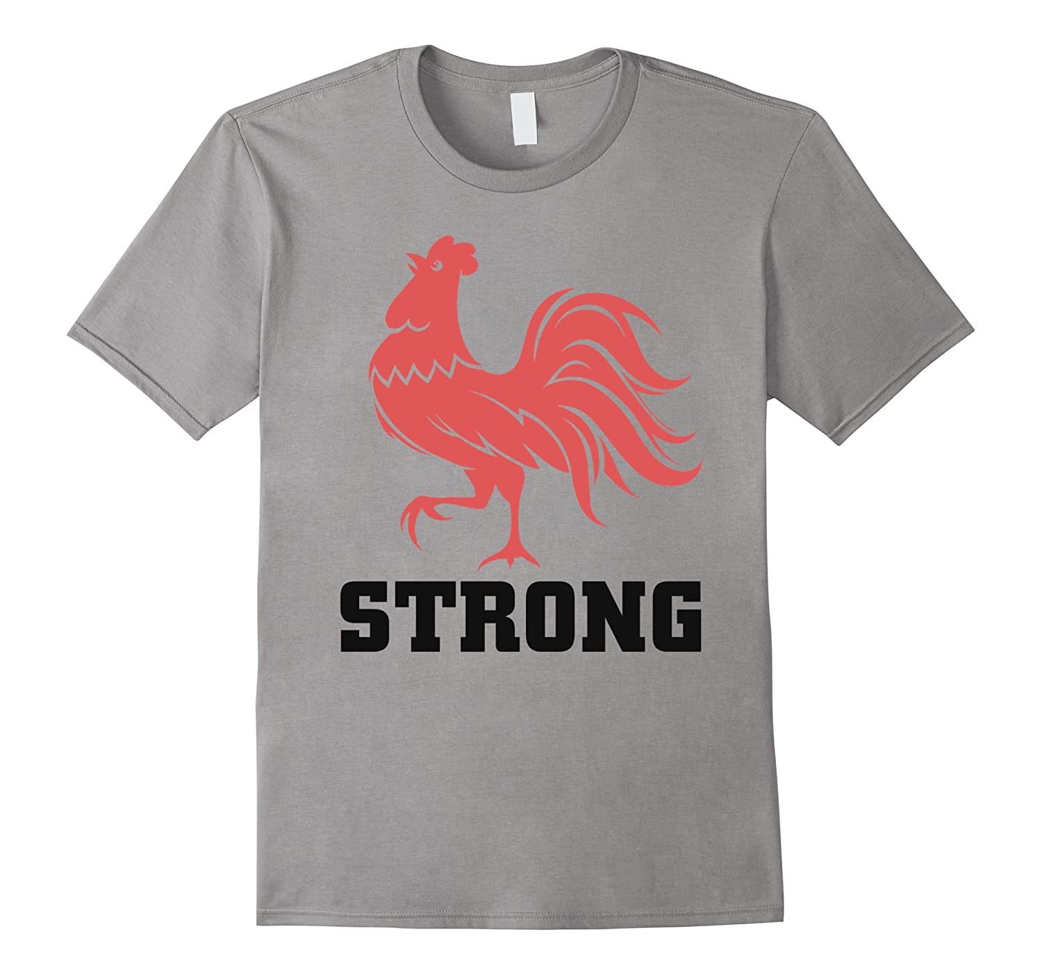 Rooster strong t-shirt 2017-CD