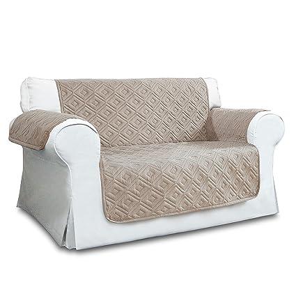 Cubierta de lujo para sofá | antideslizante | resistente al agua | lavable para cualquier estación fundas de sofá 1/2/3 plazas, protector para sofá, ...