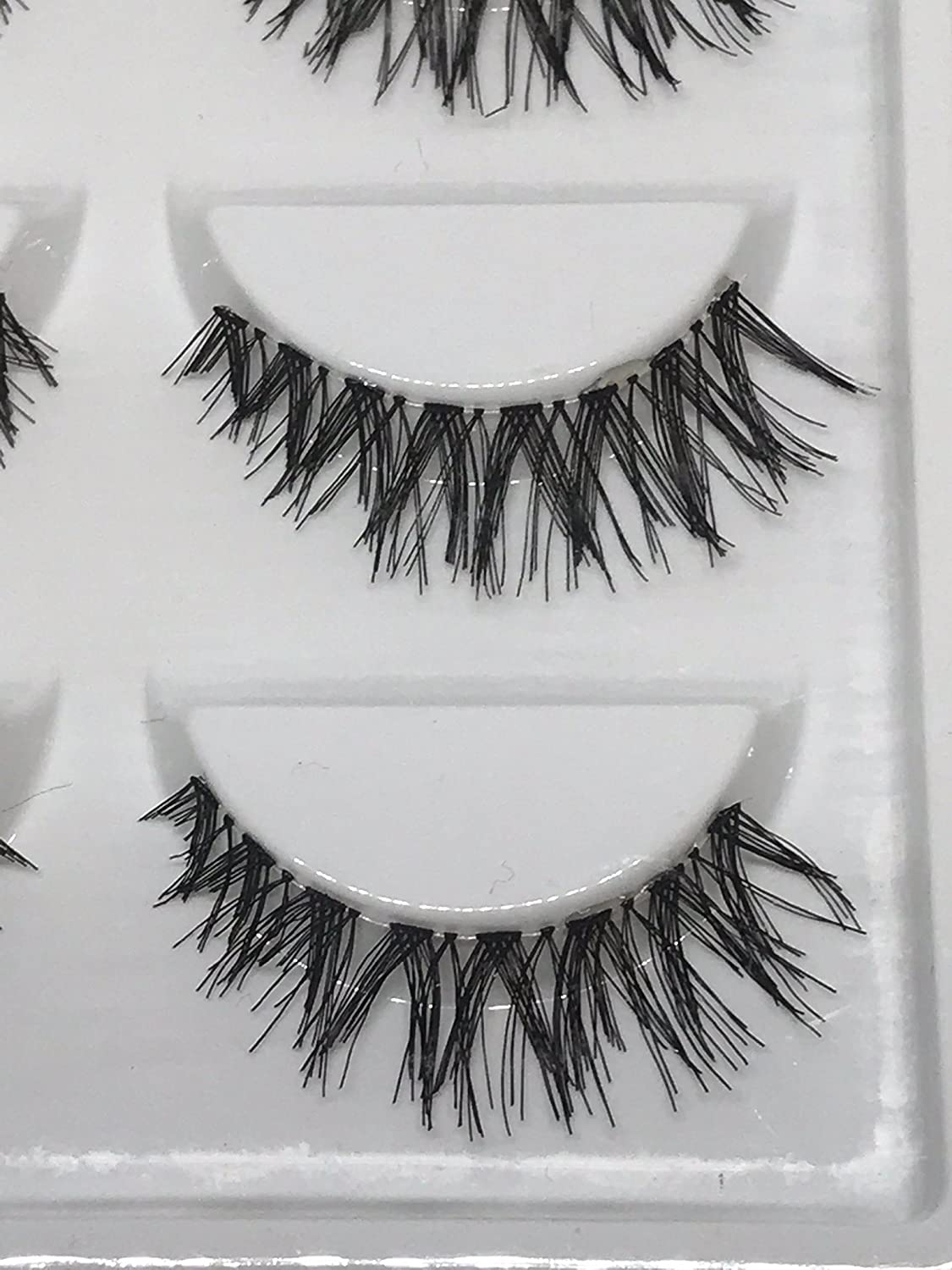 Amazon.com : Eyelashes False Ankaleca Natural Look Soft Handmade Lashes Reusable Extension : Beauty