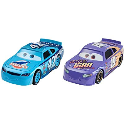 Disney Pixar Cars 3: Bobby Swift & Cal Weathers Die-cast Vehicle 2-Pack: Toys & Games