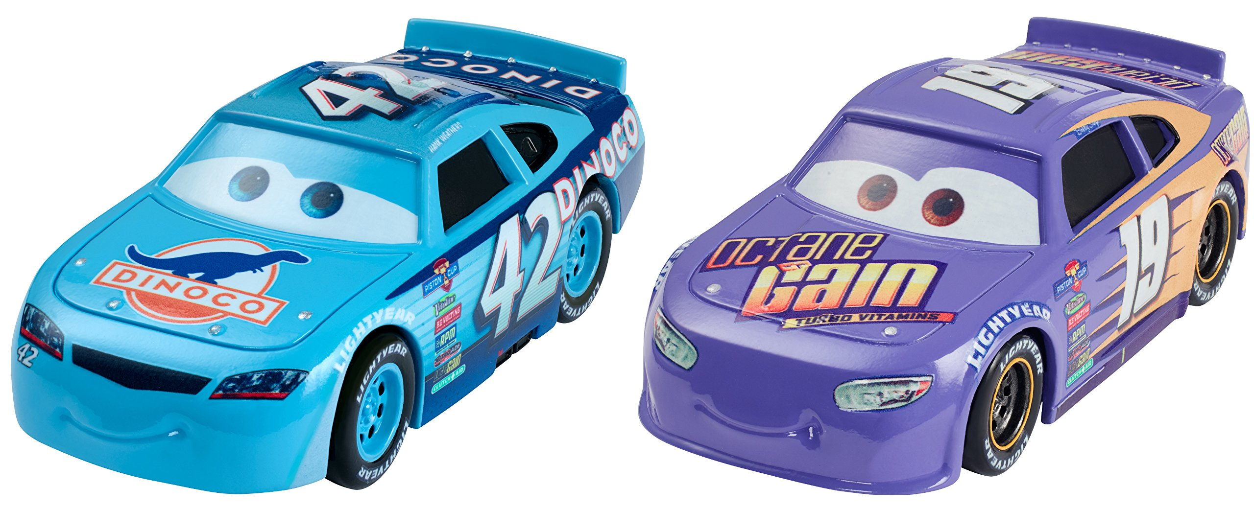 Disney/Pixar Cars 3 Bobby Swift and Cal Weathers Die-Cast Vehicles, 2 Pack
