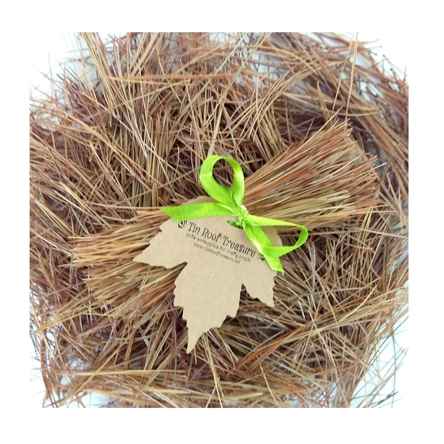 Tin Roof Treasure Naturally Dried Eastern Pine Needles, 8''x10'' Bag