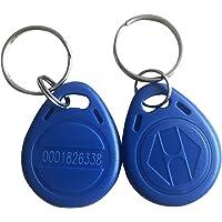 YARONGTECH 125KHz RFID proximidad Keyfobs Anillo tarjeta de control de acceso RFID Tag Azul Gris Rojo Negro y Naranja…