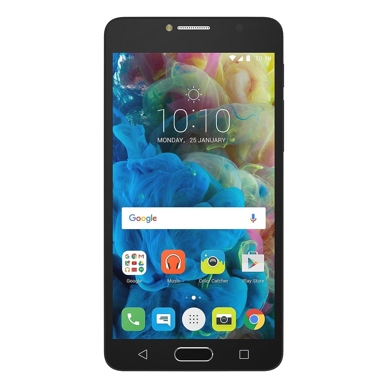 Alcatel Pop 4 5095K 16GB 4G Gris - Smartphone (SIM Doble, Android, NanoSIM, Edge, GPRS, gsm, HSPA+, UMTS, LTE) (Importado)