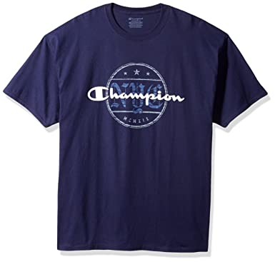 4216fcbee0ed Amazon.com  Champion Men s Classic Jersey T-Shirt  Clothing