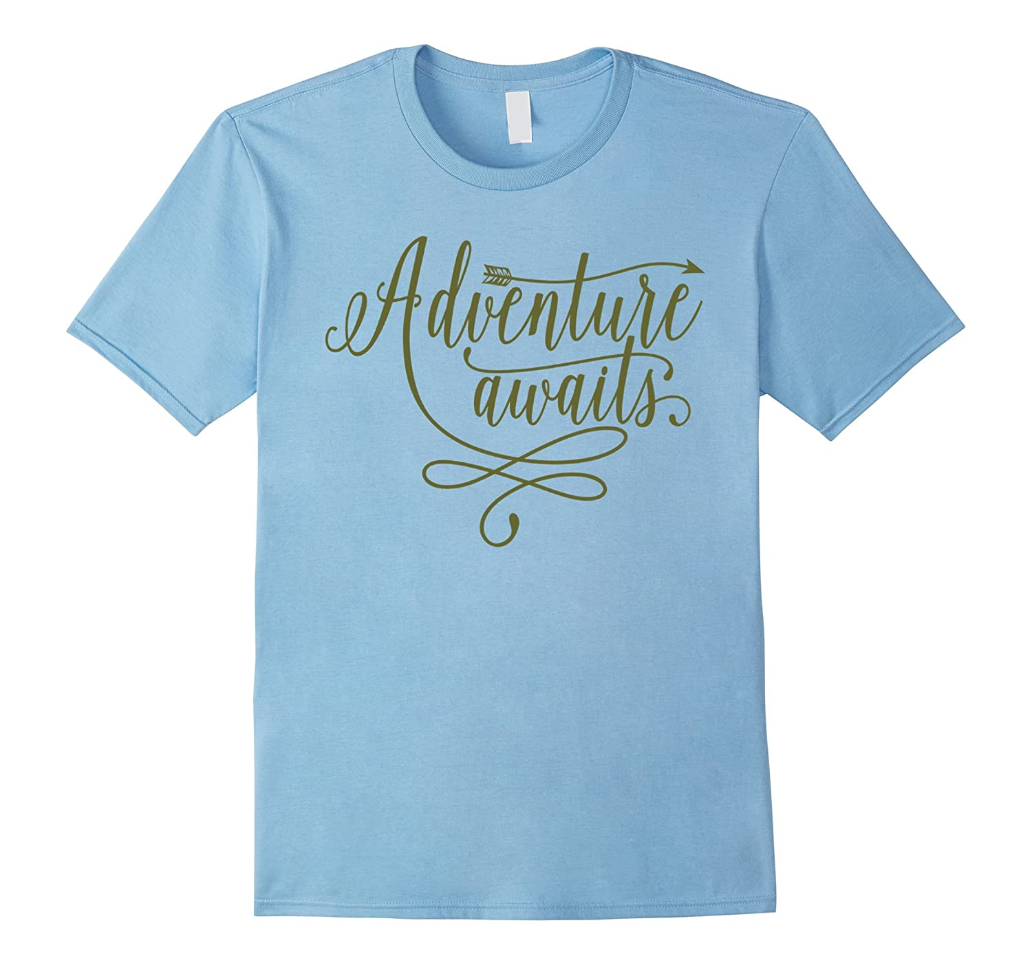 Adventure Awaits - Outdoor Camping Hiking Trekking Shirt-Vaci