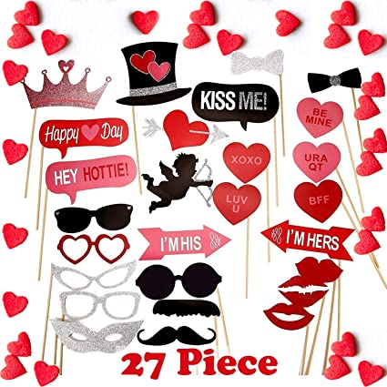 Amazoncom Wedding And Funny Valentines Day Photo Booth Props