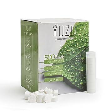 Amazon.com: Premium Coin Tissue | Toilet Paper Tablets | Compressed ...