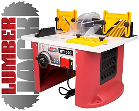 Lumberjack rt1500 1500w bench top router table with intergrated lumberjack rt1500 1500w bench top router table with intergrated router greentooth Image collections