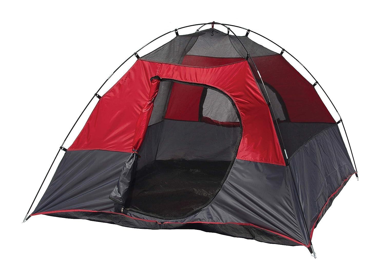 Amazon.com  Texsport Lost Lake Square Dome C&ing Outdoor Tent Molten Lava/Grey  Sports u0026 Outdoors  sc 1 st  Amazon.com & Amazon.com : Texsport Lost Lake Square Dome Camping Outdoor Tent ...