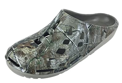 4ae09802ac Amazon.com | Realtree Men's Camouflage Clog Slip-on Shoe, Size 8 to ...