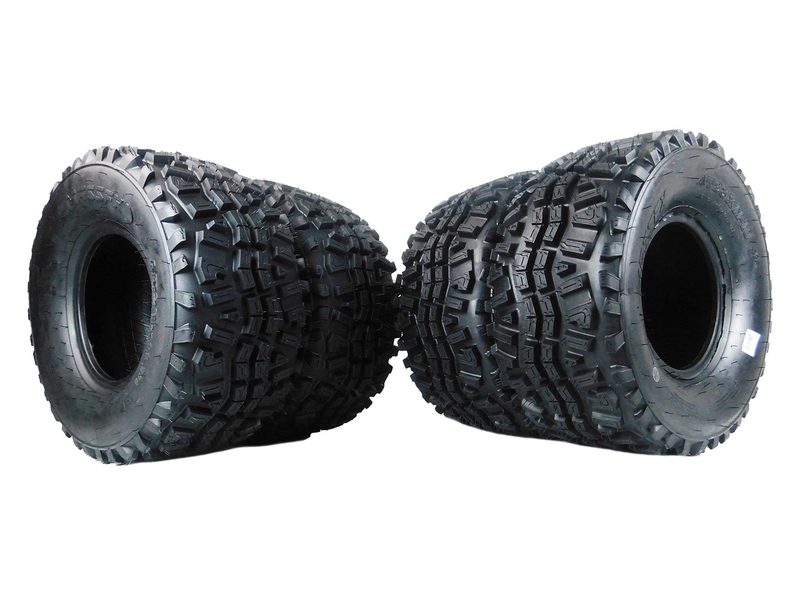New MASSFX VS231110 ATV Tires 23X11X10 23x11-10 OEM Kawasaki Mule Tires 6 Ply 4 set