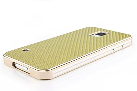 Urcover® Funda Samsung Galaxy S5 PREMIUM [Fibra Carbono + ...