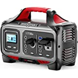 ROCKPALS 300W Portable Power Station, 280wh (78000mAh) Solar Generator with 110V Pure Sine Wave AC Outlet, USB-C PD Input/Out
