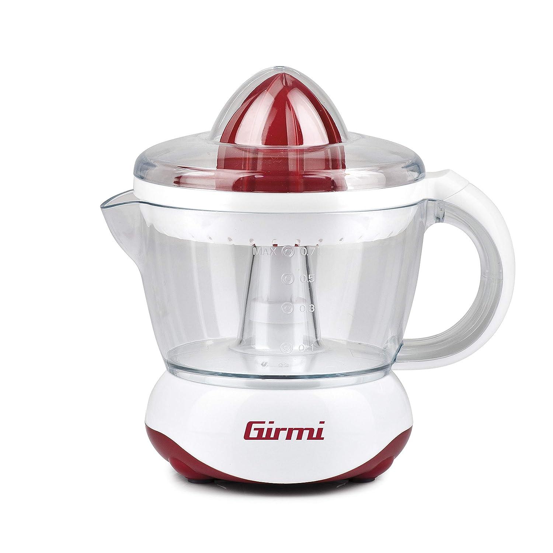 Girmi SR02 0.7L 25W Rojo, Color blanco prensa de cítricos ...