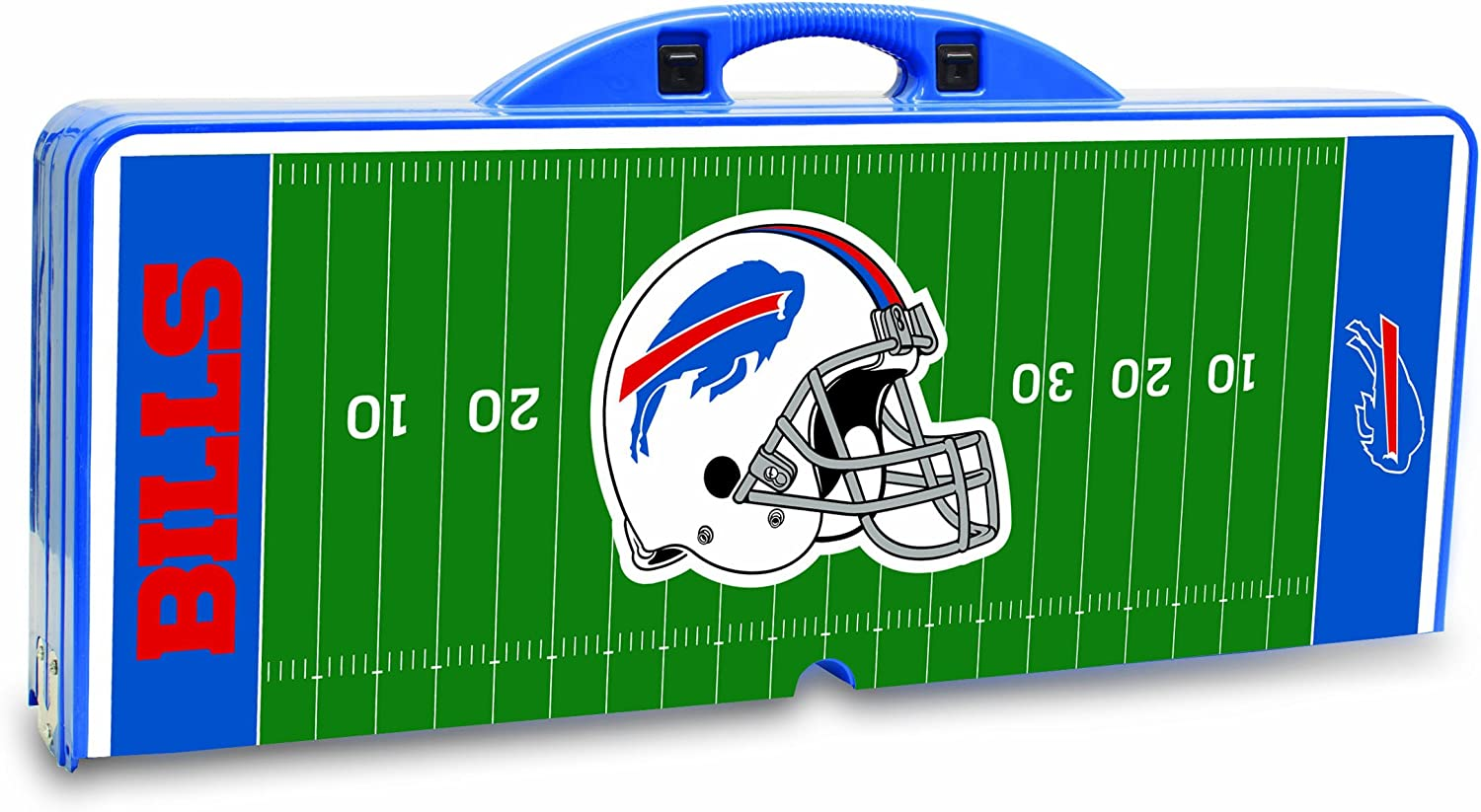 Blue NFL Folding Picnic Table
