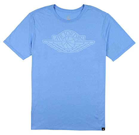 c17543f05b9707 Amazon.com  Nike Jordan Men s Tri-Blend Iconic Wings T-Shirt X-Large  University Blue  Sports   Outdoors