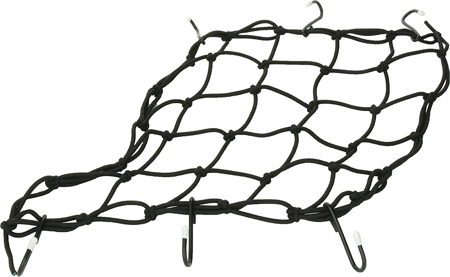 Keeper 06143 Motorcycle/ATV Cargo Net, 15' x 15' with 6 Hooks 15 x 15 with 6 Hooks