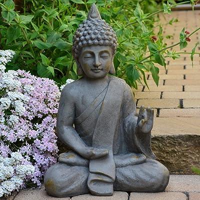 INtrenDU Bouddha Statuette Chinois 54cm décoration Zen pour ...