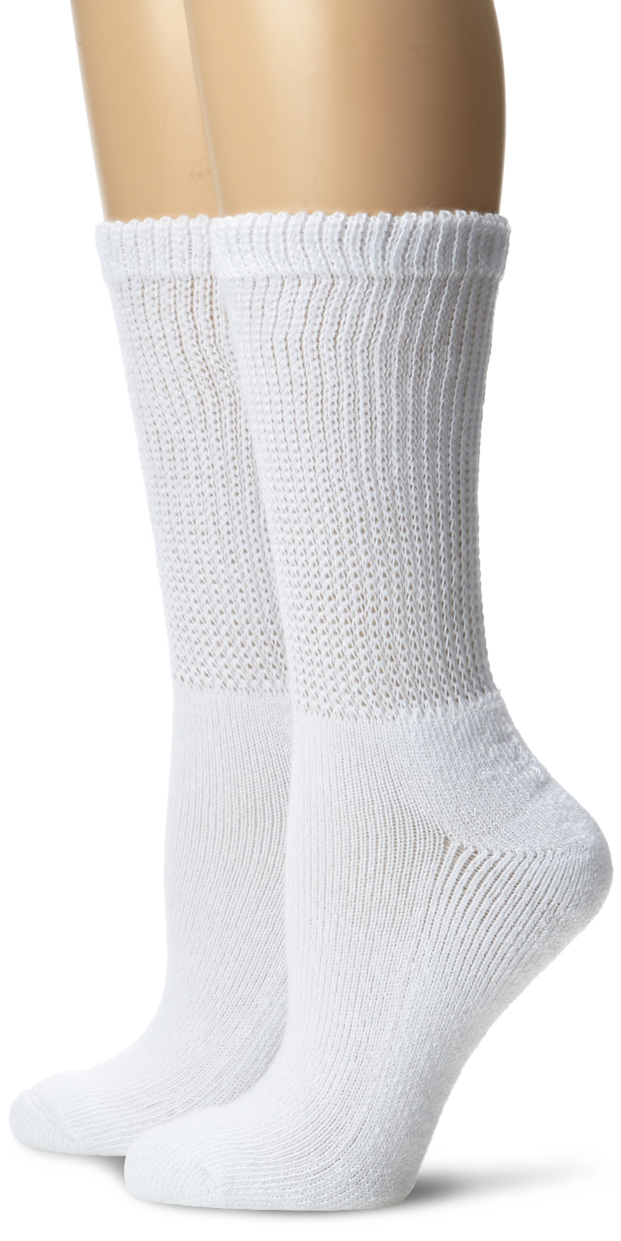 Dr. Scholl's Women's 2 Pack Diabetes Circulatory Crew Socks