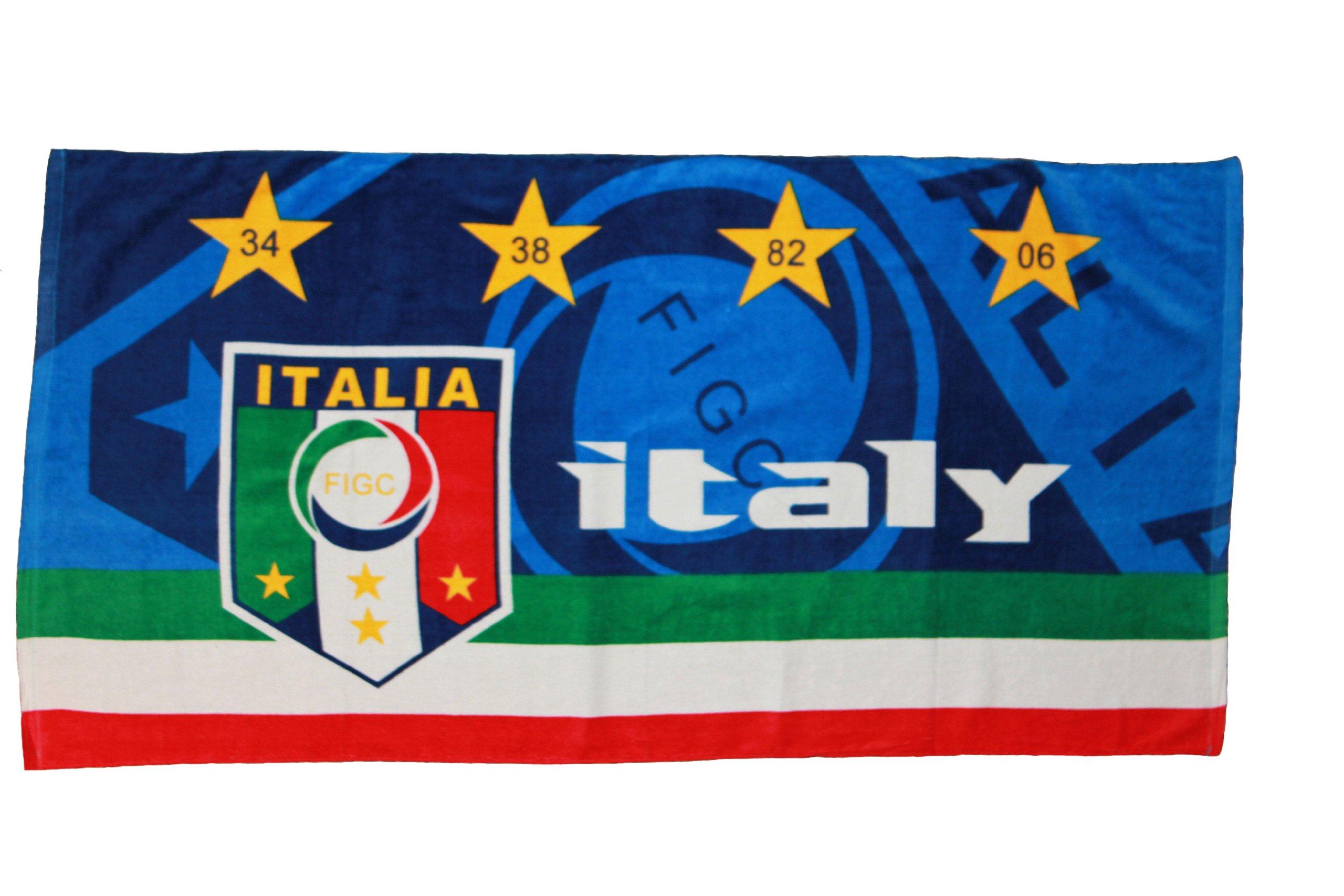 Italy Italia FIGC Logo Towel 56'' X 28'' .. FIFA Soccer World Cup .. New