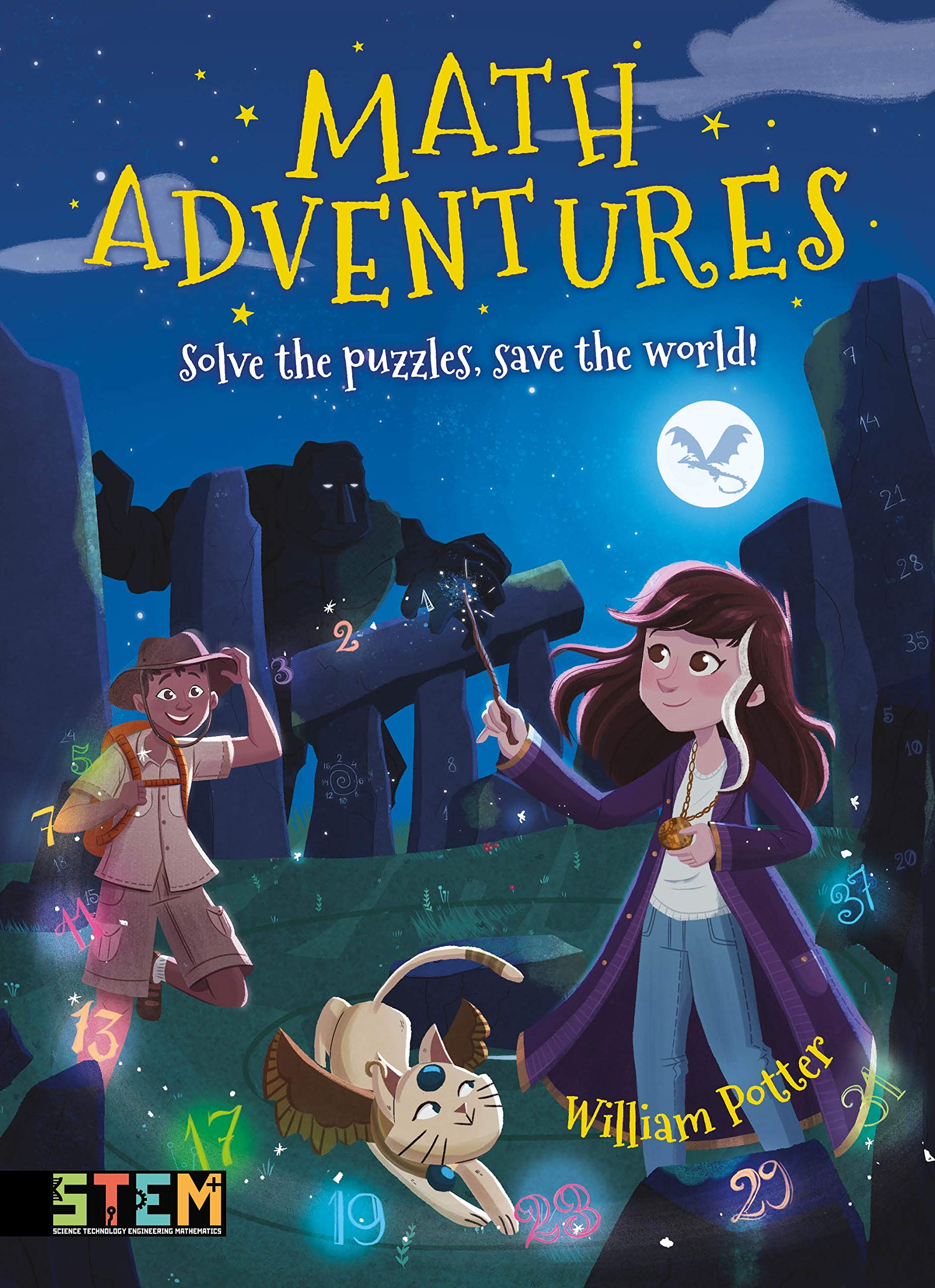 Math Adventures: Solve the Puzzles, Save the World!: Amazon ...
