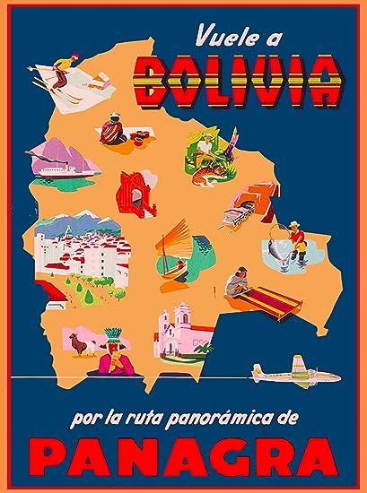 Amazon com: A SLICE IN TIME Vuele a Bolivia Panagra South
