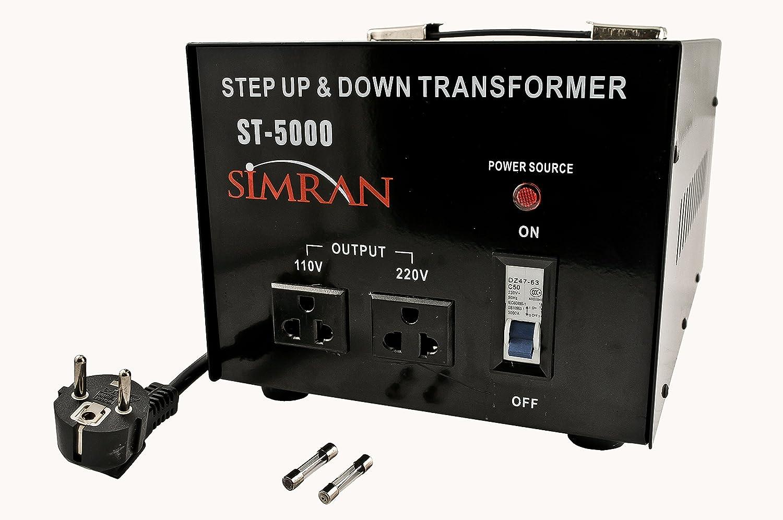 Seven Star TC-5000 110//120//220//240-Volt Step Down up Transformer 5000W Watt