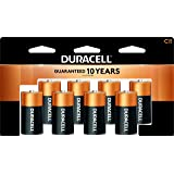 Duracell - CopperTop C Alkaline Batteries with Recloseable Package - Long Lasting, All-Purpose C Battery for Household and Bu