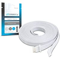 Litcessory Extension Cable for Philips Hue Lightstrip Plus (3m, 1 Pack, White)