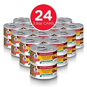Hill's Science Diet Canned Wet Cat Food, Kitten Recipes, Pack of 24