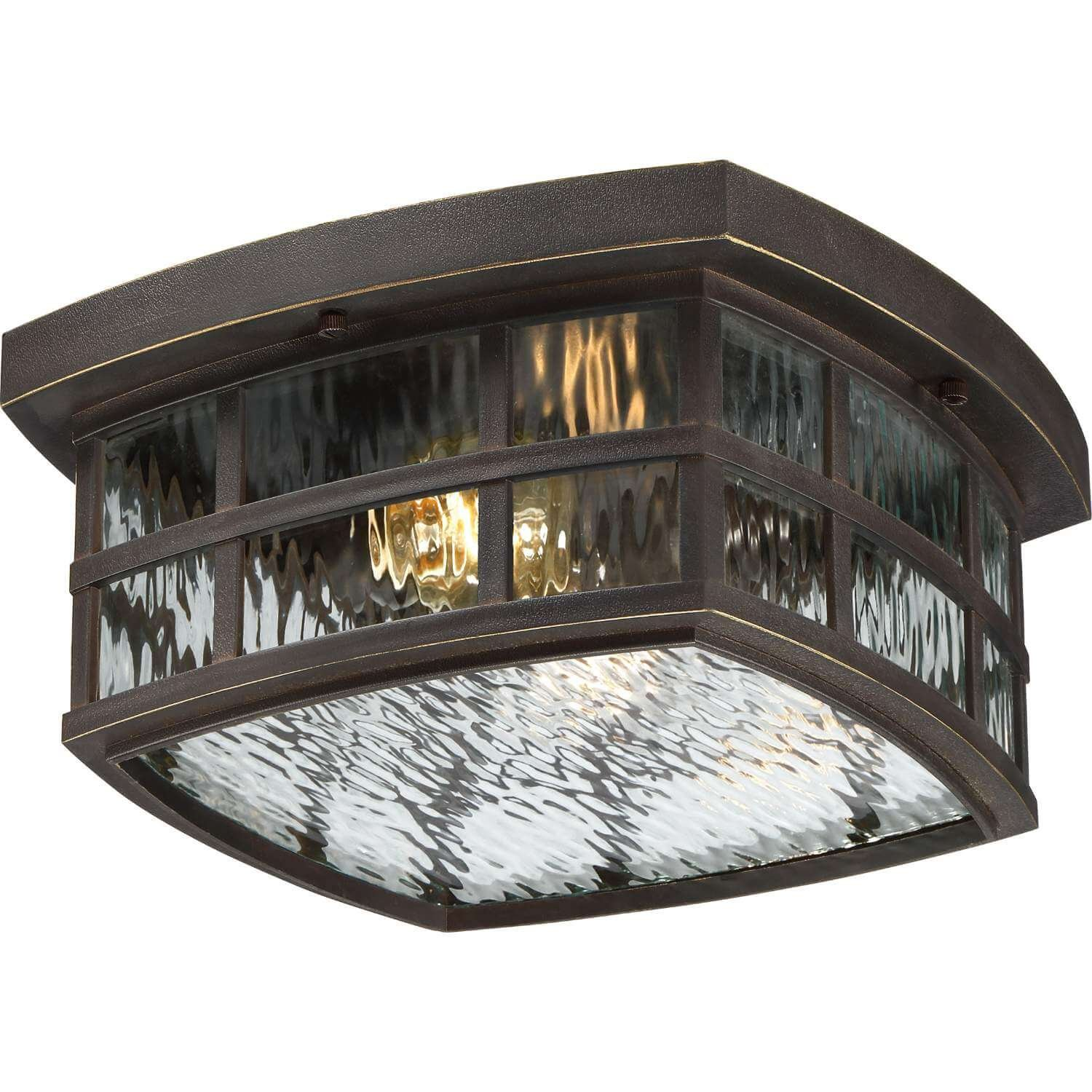 Bidwell Lighting Hazel 12'' Wide Outdoor Ceiling Light - Palladian Bronze