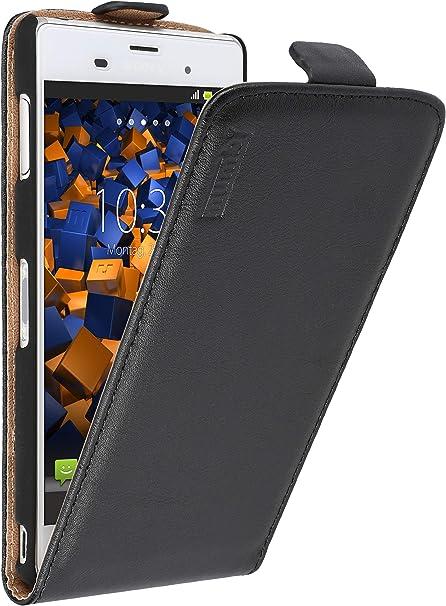 Mumbi Echt Leder Flip Case Kompatibel Mit Sony Xperia Elektronik