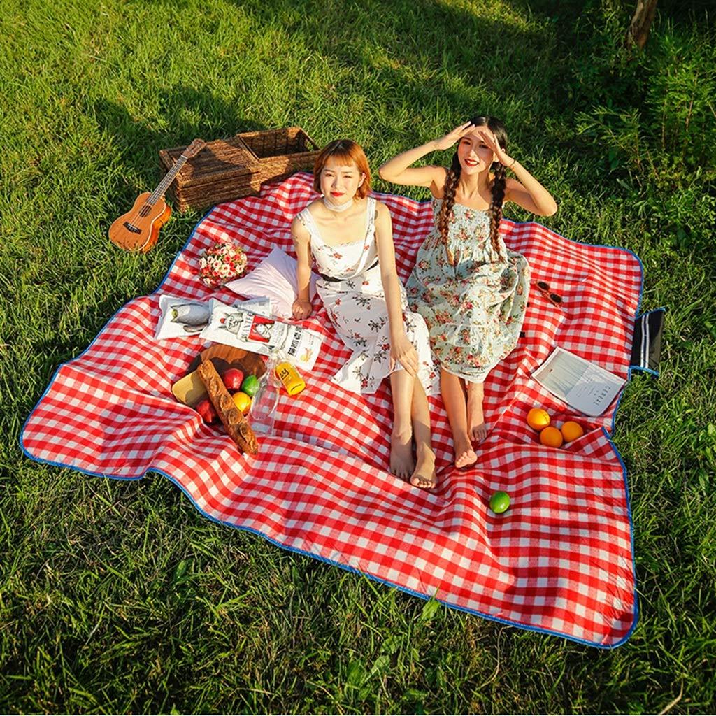 Picknickmatte- Große Picknickdecke Im Freien, 200  200 200 200 cm Wasserdicht Handliche Matte Tote Ideal Für Den Strand, Camping Reisen Auf Gras Wasserdicht Sanddicht (Farbe   V) B07PJ9D6C9 | Clever und praktisch  c1c8e1