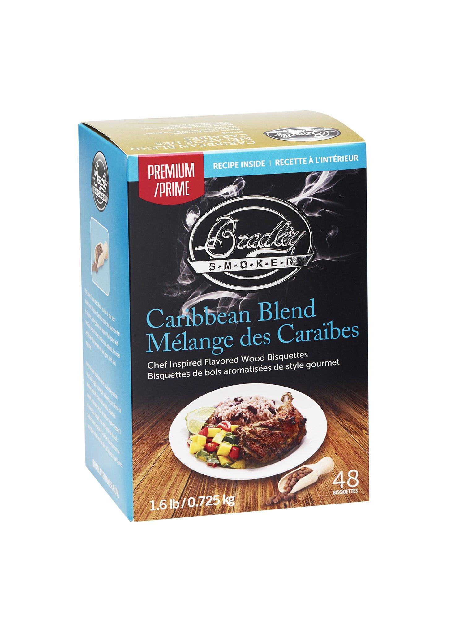 Bradley Smoker Caribbean Blend Bisquettes (48 Pack)