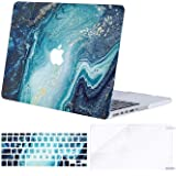 MOSISO MacBook Pro 13 inch Case 2015 2014 2013 end 2012 A1502 A1425, Plastic Creative Wave Marble Hard Shell Case…