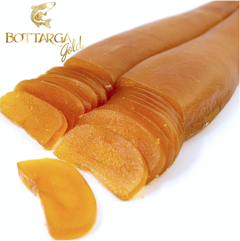Bottarga Gold - Wild Caught Dried Mullet Roe 3.5 oz Kosher: Amazon.com: Grocery & Gourmet Food