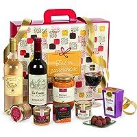 """Ducs de Gascogne - Coffret""""Soirée smoking"""" - comprend 8 produits dont un bloc de foie gras - spécial cadeau - 979554"""