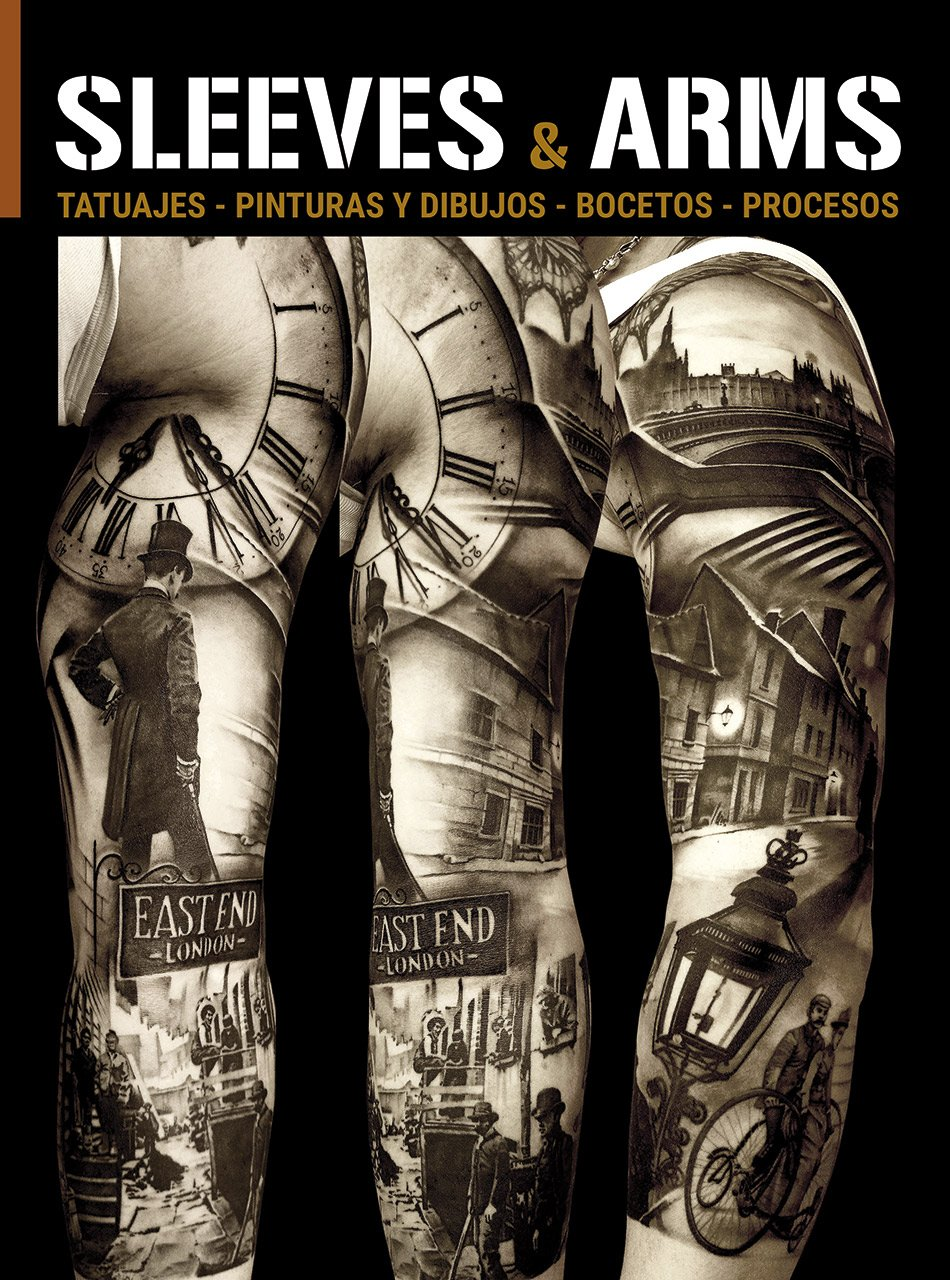 Sleeves & Arms: Tattoos, Paintings, Drawings, Sketches and Processes