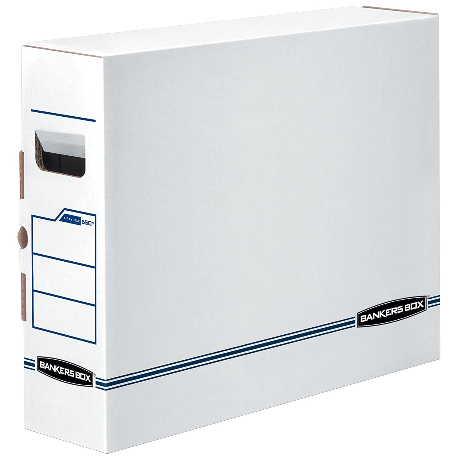 Bankers Box X-Ray Storage Boxes, X-ray Film, 6 Pack (00650) Fellowes 00650
