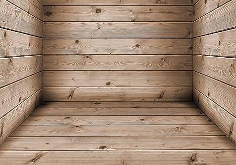 Assi Di Legno Hd : Photomural stanza fatta di assi di legno vlies tapete xxl x